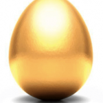 gyllene ägg